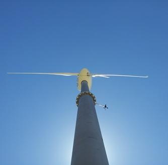 Mat éolienne basculant evidence energy